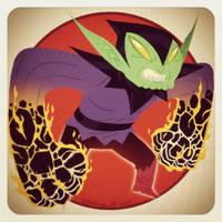 Bedtime Scribble: Super Skrull by tnperkins
