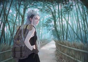 Walk with Me by DjamilaKnopf