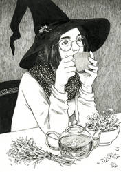 Camomile Witch by DjamilaKnopf