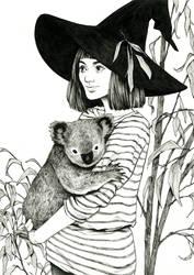 Eucalyptus Witch by DjamilaKnopf