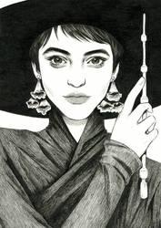 Foxglove Witch by DjamilaKnopf