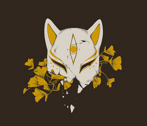 PREORDERS OPEN: Kitsune T-Shirt by DjamilaKnopf