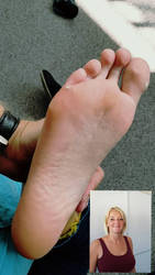 sole lick position before tickle torture POV  mode by Azhrezil