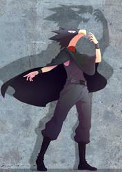 Fumikage Tokoyami (Boku no Hero Academia) by wingedwolf94