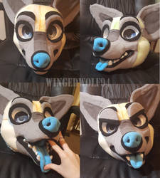 ANOTHER fursuit?? WIP by wingedwolf94