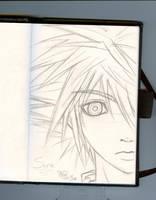 Sora sketch by ChibiLuka