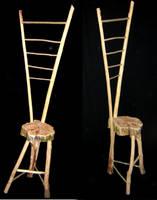Ladder Chair by Bingus