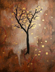 Golden Leaves by KyrMaur
