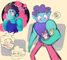 Radicles Doodle Dump by ScribbleCate
