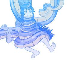 Com: Snuggly coils by FluffyXai