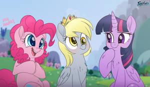 Princess Friends by FluffyXai