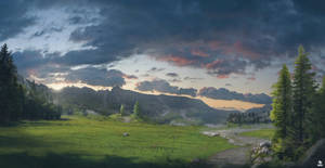 Somewhere sunset by CordobezWeee
