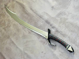 Long Scimitar by ArchangelSteelcrafts