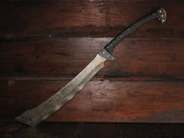 Zombie Apocalypse Cleaver by ArchangelSteelcrafts