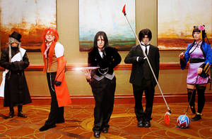 Kuroshitsuji Grell Cosplay: Group by BloodlustDetox