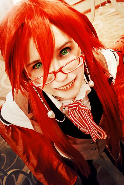 Kuroshitsuji Grell Sutcliff Cosplay by BloodlustDetox