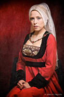 Renaissance german noble woman by Costurero-Real