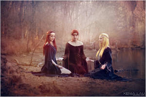 The 3 witches by Costurero-Real