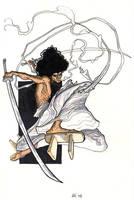 Afro Samurai by AaronKuder
