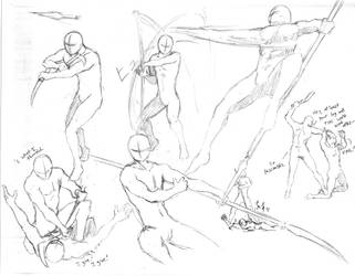 Action Poses 6 by shinsengumi77