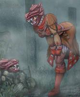 Vengarl - Dark Souls 2 by Vani-Fox