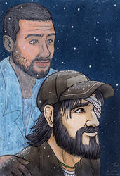 Kenny and Lee by Vani-Fox