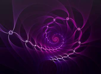 Purple Ribbons by Moonchilde-Stock