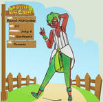 Harvest Lunatone App: Raoul the Gardevoir by CreativeBomb