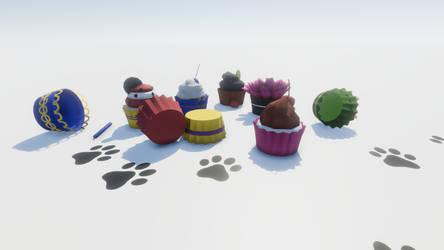 Cupcakes vs Meru by eriknordeus