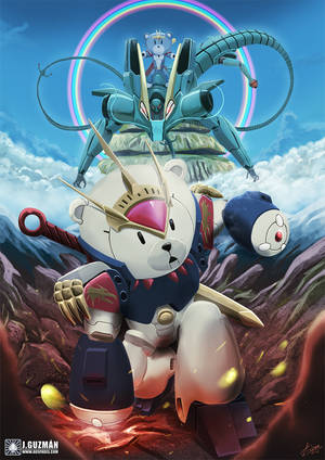 [Commission] Mashin Hero Wataru x GBF Homage by Z3ros
