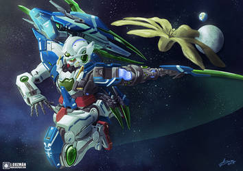 Gundam Exia R4 by Z3ros