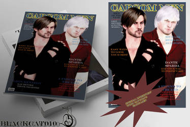 Capcom Men-magazine cover!BlackCat010! by black-cat010