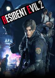 Resident Evil 2 Remake!Edited! by black-cat010