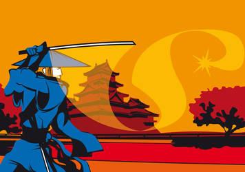 Style Of Scottish Samurai by editwilson