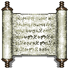 Pixel Item - Faded Scroll by singularitycomplex