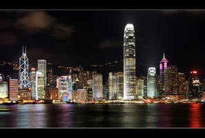 Goodnight Hong Kong II by AndrewToPhotography