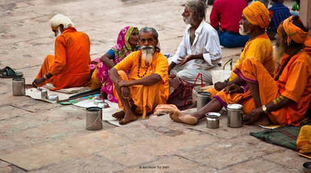 Varanasi Life I by AndrewToPhotography