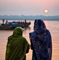 Varanasi Life Ganges by AndrewToPhotography
