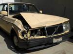 Wrecked car by EROCKERTORRES