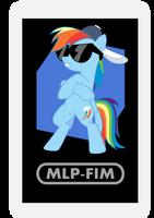 AR Character Card: Rainbow Dash by EROCKERTORRES