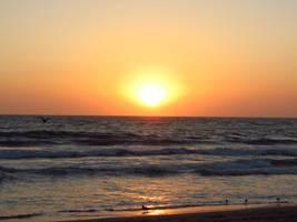 Beach Sunset 1 by EROCKERTORRES
