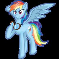 Bada$$ Rainbow Dash by EROCKERTORRES