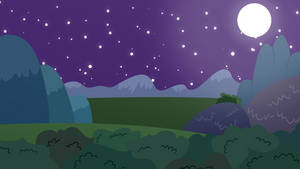 MLP BG-Night scene by EROCKERTORRES