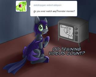 Pun Pony Comic: Monster Movies by EROCKERTORRES