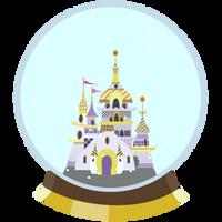 Canterlot Snowglobe by EROCKERTORRES