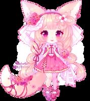 Adorannie: Fennec Fox   Peach Yarrow by shelselle