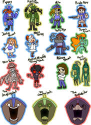 The Candle Cove Cast by x-EBee-x