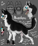Muzzless Reference Sheet by x-EBee-x