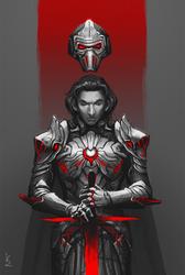 Dark Knight of Ren by KanzakiVS