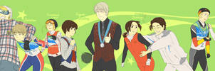 9 Medalists by shiraa9